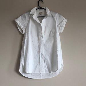 Jcrew popover collard shirt